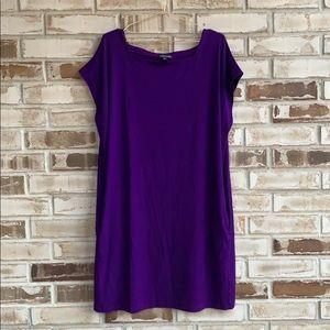 Eileen Fisher • Jersey Dress Sz L